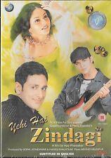 YEHI HAI ZINDAGI - PARVEEN DABAS - GRACY SINGH - BRAND NEW BOLLYWOOD DVD