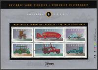 HISTORIC VEHICLES-4 *Retro auto* Souvenir sheet Canada 1996 #1604 MNH  (4/5)