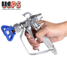 3600Psi Airless Paint Spray Gun With Tip & Nozzle Guard For Universal Sprayer