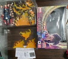 Tamashii Nations Bandai S.H. Figuarts Marvel Doctor Strange & Burning Flame Set