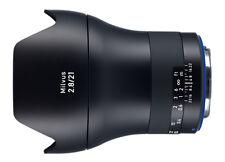 ZEISS Milvus 21mm F2.8 Lens ZE Canon Fit Cc1043