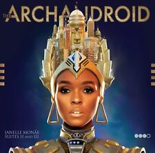 JANELLE MONAE THE ARCHANDROID 2010 CD POP FUNK NEW