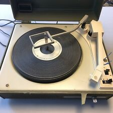 Vintage General Electric Ge Solid State Portable Record Player V630s Model