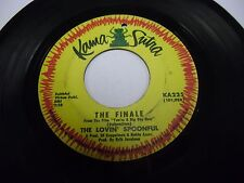 "Lovin' Spoonful Six O'clock / The Finale 7"" 45 rpm Kama Sutra VG"