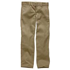 Pantaloni sportivi da uomo beige in cotone