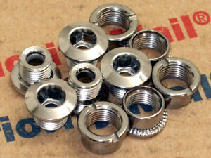 BMX / Single-Speed Chrome-Plated Chainring Bolts