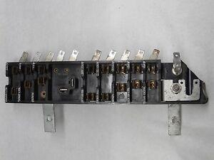 1958,59,60 Chrysler Saratoga / Windsor Fuse Panel Old School (( Cigar Lighter ))