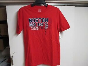 "BOSTON ""RED SOX"" YOUTH T SHIRT (XL) NWT $22 RED W/RED SOX BASEBALL CLUB LOGO"