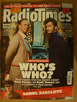 RADIO TIMES DOCTOR WHO 10th NOVEMBER 2007 PETER DAVISON & DAVID TENNANT