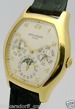 PATEK PHILIPPE EWIGER KALENDER - 18ct GOLD - NEW OLD STOCK - Ref. 5040 1990er