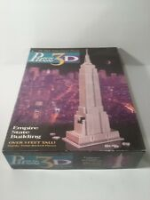 1994 Puzz 3D EMPIRE STATE BUILDING Jigsaw Puzzle #4465