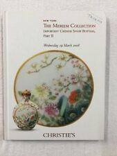 The Meriem Collection. Chinese Snuff Bottles. Part 2. Christies. 19 March 2008.