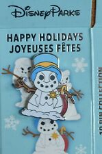 New ListingDisney Store - Happy Holidays Character Snowmen Mystery Box Pin - Jiminy Cricket
