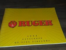 Used Ruger 2004 Catalogue of Fine Firearms