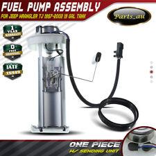 Electric Fuel Pump Assembly for Jeep Wrangler TJ 1997-2002 2.5L 4.0L 19 Gal Tank