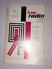 Ham Radio Magazine Speech Clipping 6 meter Linear February 1971 121816rh