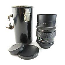 Für M42 Pentacon 2,8/135 Objektiv / lens 15 blades + case