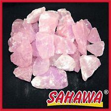 Sahawa® Rosenquarz 500g, Rohsteine klein,Mineralien,Edelstein, Wasserstein