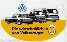 VW Bus T3 - Aufkleber - Die wirtschaftlichen 3 - NEU