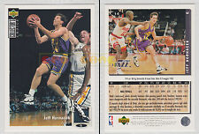 NBA UPPER DECK 1994 COLLECTOR'S CHOICE - Jeff Hornacek # 14 - Ita/Eng- MINT