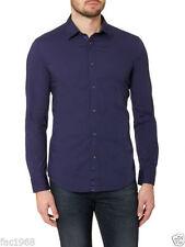 Camicie casual e maglie da uomo blu Diesel