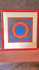 VICTOR VASARELY(1906-1997,HUNGARY,FRANCE)ABSTRACT SERIGRAPH,PENCIL SIGNED,59/250