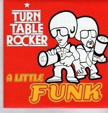(DA321) Turn Table Rocker, A Little Funk - 2001 DJ CD