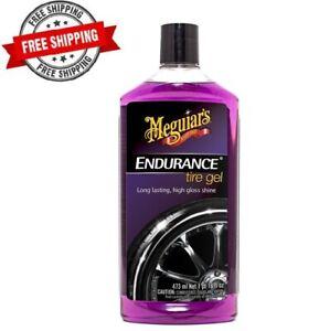 Meguiars Endurance Tire Gel Premium Auto Accessories for a Lasting Glossy Shine