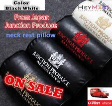 2x pcs Best PU Leather Auto Car Neck Rest Pillow Japanese Brand JP Neck Pillow 2