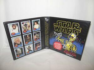 Custom Made Star Wars 1977 A New Hope Series 1 Trading Card Album Binder
