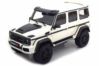 GT SPIRIT ZM097 1:18 MERCEDES W463 G-CLASS BRABUS 500 4x4 2017 WHITE METALLIC LI