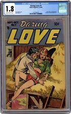 Daring Love #1 1st Published Steve Ditko (Amazing Spider-Man) Artwork! CGC 1.8