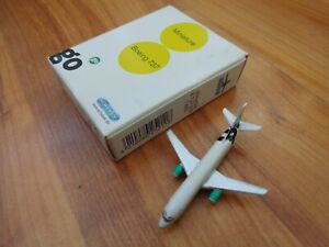 SCHABAK 1:600 BOEING 737-300 GO AIRLINES DIECAST AIRCRAFT PLANE 925/211