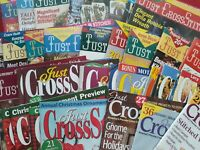 Just Cross Stitch Magazine Back Issues  YOU CHOOSE YOUR FAVORITES