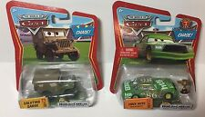 Disney Pixar Cars - World of Cars Chase Cars - Saluting Sarge & Chick Hicks