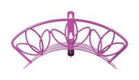 Yard Butler  125 ft. Post Mount  Decorative  Purple  Hose Hanger
