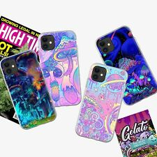 Case for iPhone 11 XR XS MAX 8 7 Plus ShockProof Psychedelic Trippy Phone Cover