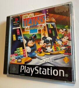 SONY PLAYSTATION 1 PS1 DISNEY DEFI AU TETRIS MAGIQUE PAL FR COMPLET