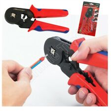 Bootlace Crimper 0.25-6mm² Crimping Tool Sleeve-type Terminal Ferrule Wire End