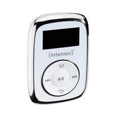 Intenso Music Mover 8GB weiß MP3-Player Musikplayer Micro-SD Karten Slot Musik