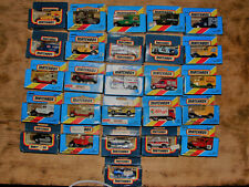 Job Lot de 26 Matchbox Superfast Series 1:75, non ouvert, tous de 80`s