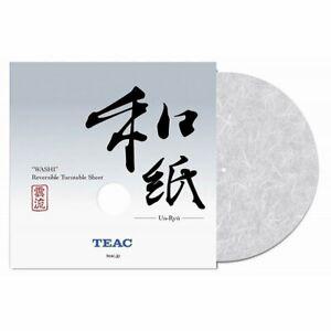 TEAC WASHI REVERSIBLE TURNTABLE SHEET (STONE PAPER) TA-TS30UN-BW
