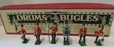 Vintage Britains Ltd. Drums & Bugles of the Line Soldiers Set No. 30 in Box!