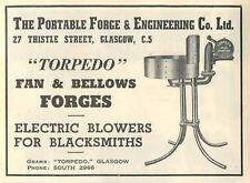1953 Portable Forge & Engineering Torpedo Glasgow Ad