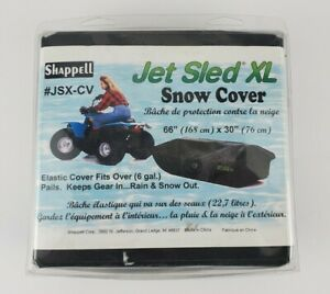 "Jet Sled XL Shappell JSX-CV Snow Cover Elastic Cover 66"" X 30"" NEW"