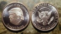 Donald J. Trump  POTUS 1oz. Pure Copper Bullion Round!!