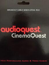 Audioquest CinemaQuest Video Adaptor Male DB-15/3 Female RCA(YIQ)
