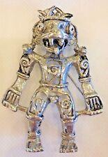Vintage Hattie Carnegie Vintage Aztec Warrior Brooch Pin Pendent