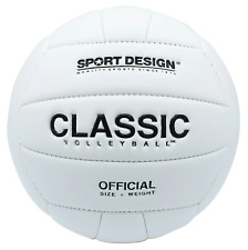 Classic White Official Indoor/Outdoor Volleyball Soft Neoprene