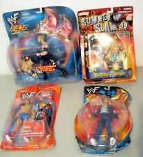 Lot MOC New Sealed WWF Heat Summer Slam Jams Kurt Angle Droz Jericho+